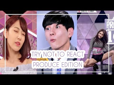 Try Not To React Produce Edition