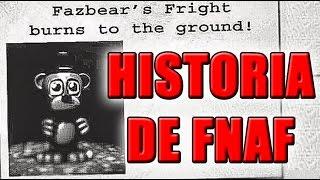 HISTORIA DE FIVE NIGHTS AT FREDDYS 3 - HISTORIA DE SCOTT CAWTHON | ZellenDust