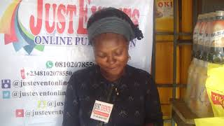 Thanks Mrs Bolanle Akonke we appreciate your concern towards the development of JUST Event online pu