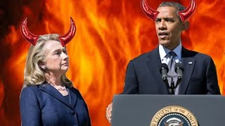 Are Obama and Clinton ACTUAL DEMONS FROM HELL?! | What's Trending Now