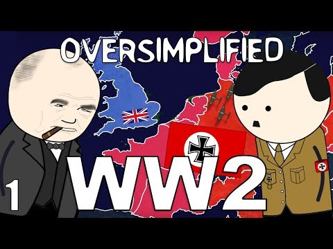 WW2 OverSimplified Part 1