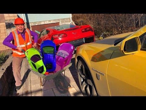 Xxx Mp4 Janitor Mr Joe Found A LOT OF Toy Cars Lamborghini Amp BMW VS Ferrari Amp Camaro In Funny Race For Kids 3gp Sex