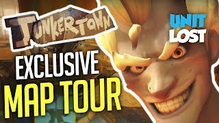 Overwatch - Junkertown WORLD EXCLUSIVE Map Tour!