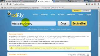 How to Adf.ly Earn Money
