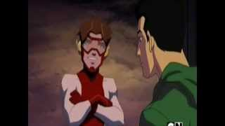 Young Justice Season 2 - Impulse and Blue Beetle Moments Part 1