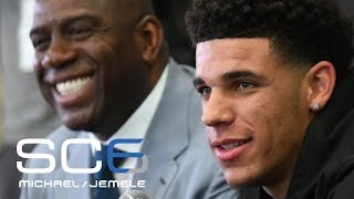Magic Johnson Or Lonzo Ball: Who Has More Pressure To Succeed For Lakers? | SC6 | June 23, 2017