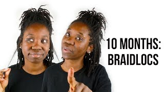 LET'S GET REAL: 10 MONTHS WITH BRAIDLOCS