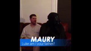 The Maury Show Star Wars edition #youAREtheFather# MarlonWebb