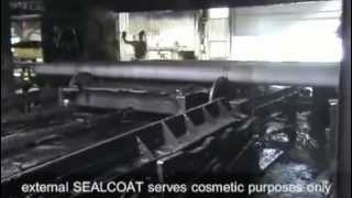 Ductile Iron Pipe: Sealcoat and Painting for Pipe