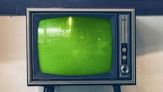 Old TV Green Screen Pack 2
