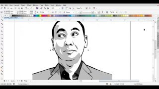 HOW TO DRAW CARTOON WITH COREL DRAW X7