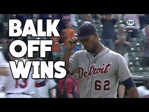 MLB   Balk Off Wins