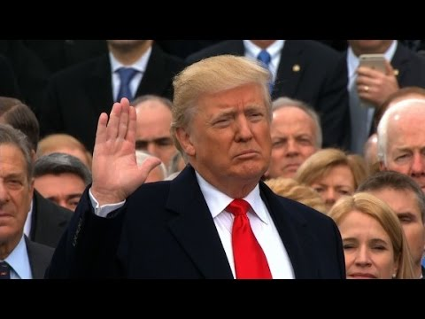 watch Donald Trump sworn in as 45th US President
