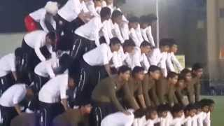 Ideal Indian School Annual Sports Day 2014 Pyramid
