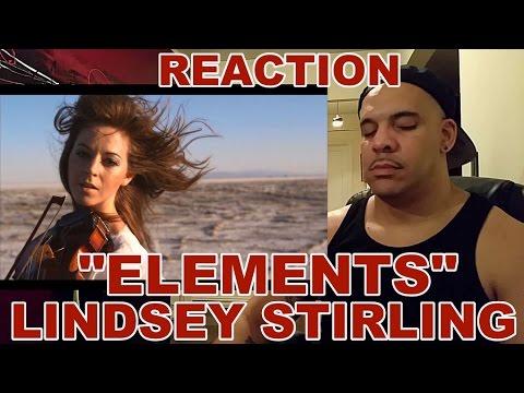 Elements - Lindsey Stirling (Dubstep Violin Original Song) REACTION