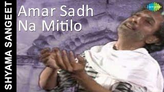 Amar Sadh Na Mitilo | Shyama Sangeet | Bengali Devotional Song | Pannalal Bhattacharya