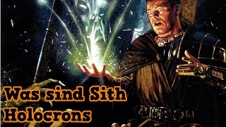 Star Wars: Was sind SITH-HOLOCRONS? [Deutsch]