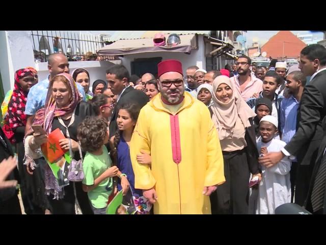 Grande Prière du vendredi à la Mosquée 67Ha, à Antananarivo