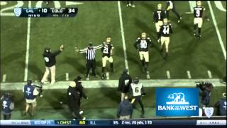 Cal Football: Colorado Highlights (Bank of the West)