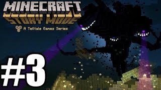 Minecraft Story Mode Episode 1 - Gameplay Walkthrough Part 3 [ HD ] No Commentary