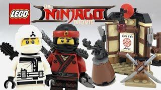 LEGO Ninjago Movie Spinjitzu Training review! 2017 set 70606!