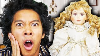 Sleeping 24 hours with Haunted Doll from Ebay!