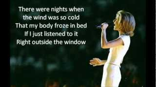 Celine Dion - It's All Coming Back To Me Now (lyrics)