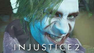 INJUSTICE 2 All Cutscenes Full Movie (Game Movie) JUSTICE LEAGUE 2017 Movie