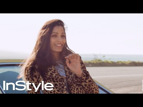 Freida Pinto on How To Drive Your Life | InStyle