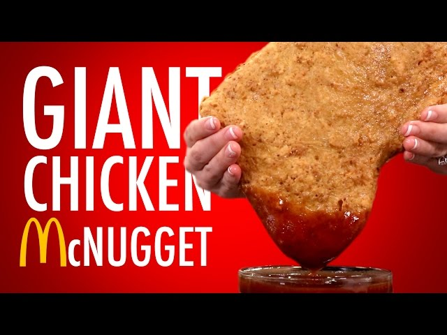 GIANT CHICKEN McNUGGET