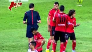 شاهد كوميديا تمثيل باسم مرسي الزمالك امام الحدود في كأس مصر وانذار غير مستحق للاعب