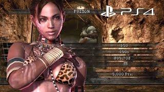 Prison Solo 805,708 Sheva Tribal | Resident Evil 5 PS4 Mercenaries United HD