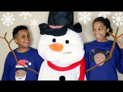 Xxx Mp4 Shiloh And Shasha CHRISTMAS SNOWMAN Onyx Kids 3gp Sex