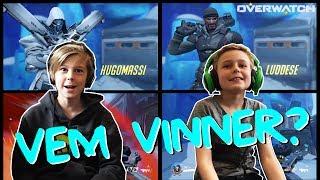 Overwatch | 1v1 → VEM VINNER!? | Crash Brothers Gaming