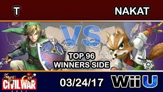 2GGC: Civil War - T (Link) Vs. CLG | NAKAT (Fox) Top 96 Winners Side