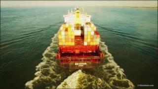 Container ship MSC Matilde 4K - DJI Phantom3 aerial footage