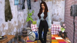 ESCAPED FROM HOME | TEEN RUNAWAY [1] | THE SIMS 4: STORY