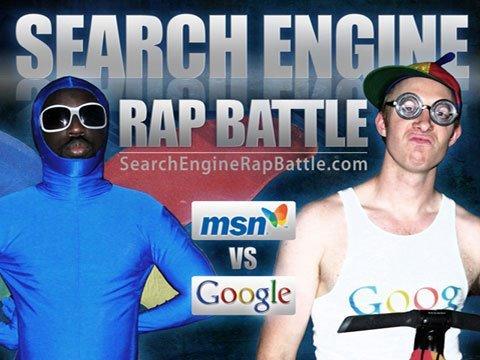 MSN vs GOOGLE - Search Engine Rap Battle