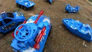 Police car and Military force toy Bộ xe tăng ô tô ca no máy bay quân đội đồ chơi trẻ em