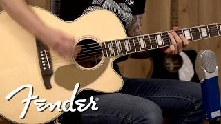 Fender Kingman SCE Jumbo Demo