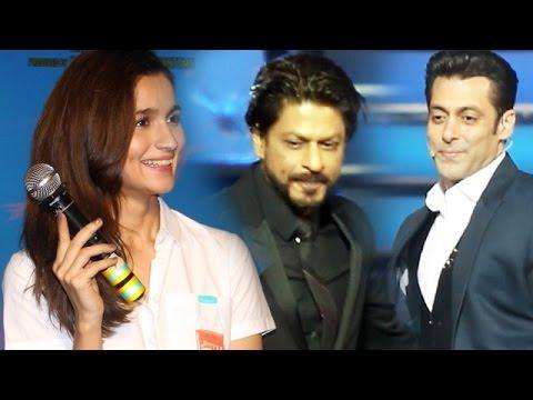 Alia Bhatt Chooses Salman Khan OVER Shahrukh Khan