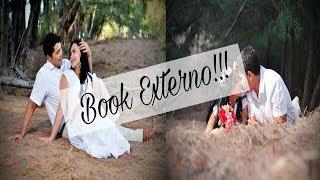Vlog do Making of do ensaio externo do book de casamento da irmã :Manias da Nau
