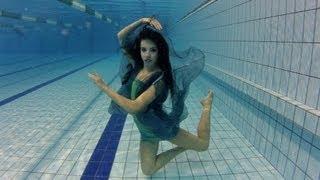 Vízalatti smink és divatfotózás werkfilm | Underwater Fashion Shooting - Behind The Scenes Movie