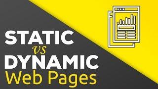 Static vs Dynamic Websites - What