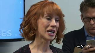 Kathy Griffin on Donald Trump photo scandal | FULL PRESS CONFERENCE