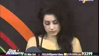 star academy 8.23/4/2011.سارة معصبة على حسام