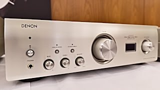 Denon PMA - 1600NE Integrated Stereo Amplifier with DAC Mode, the best of Denon - top amplifiers