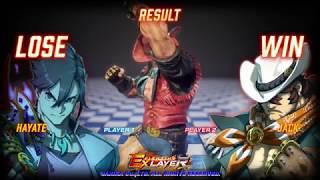 FIGHTING EX LAYER 対戦動画01-2018/05/21