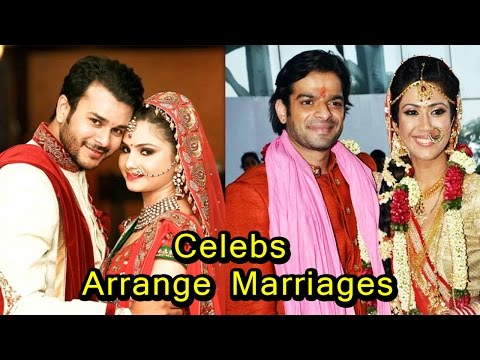 8 TV and Bollywood Celebrities who had an Arrange Marriage!