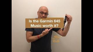 Garmin 645 Music Review